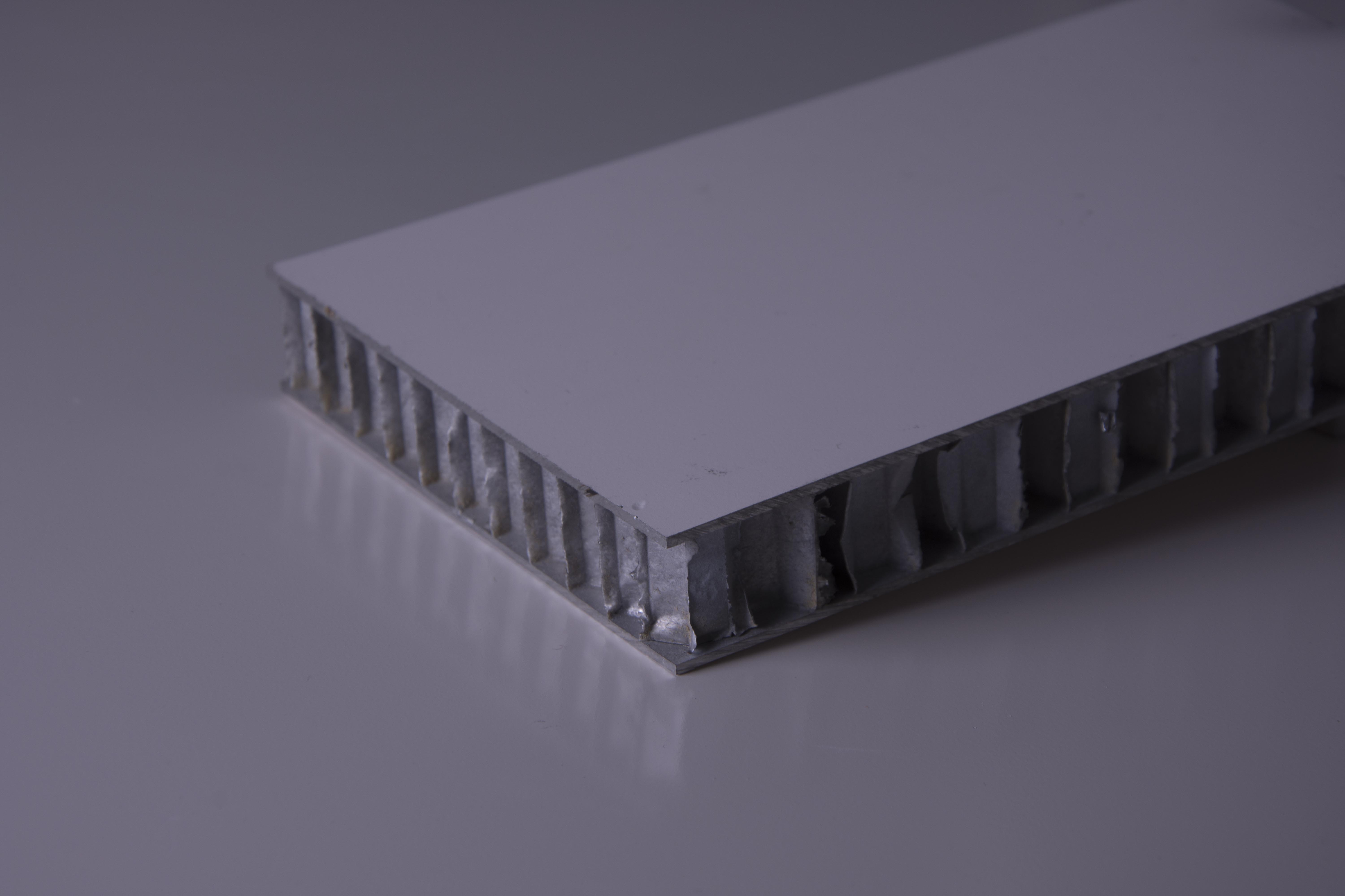 welded aluminum honeycomb panel